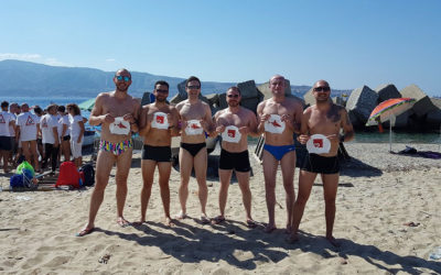 K2 Sharks to Swim the Messina Strait for Charity