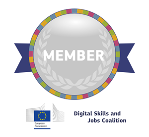 Membro da EU Digital Skills and Jobs Coalition