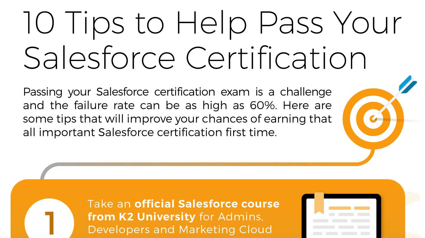 10 Tips Salesforce Infographic K2 Partnering Solutions