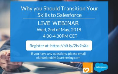 Why you Should Transition Into  Salesforce