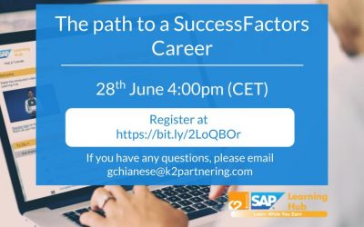 The path to a SuccessFactors Career