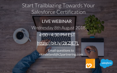 Start Trailblazing Towards Your Salesforce Certification