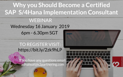 Why You Should Become a Certified S/4HANA Implementation Consultant (Cloud and On Premise Edition)