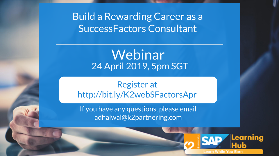 Build a Rewarding Career as a SuccessFactors Consultant
