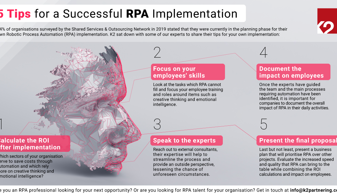 Top 5 Tips for a Successful RPA Integration