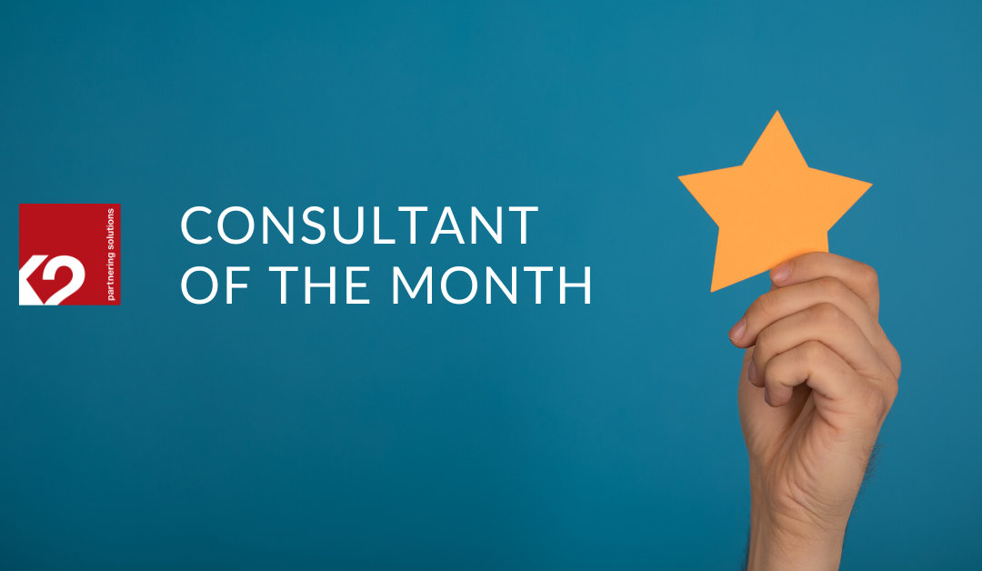 Edmilson Santana is K2's Consultant of the Month for April!