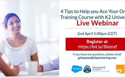 4 Tips to Help you Ace Your Online Training Course with K2 University