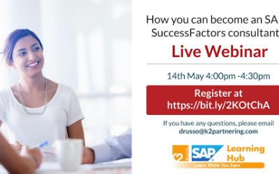 How you can Become an SAP SuccessFactors Consultant
