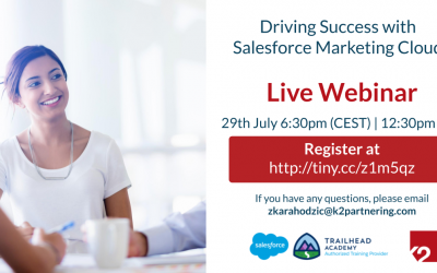 Driving Success with Salesforce Marketing Cloud